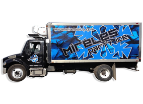 Mireles Party Ice Rental Truck